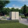 Wereldprimeur voor begraafplaats Maastricht: een volautomatische kubus vol met asurnen